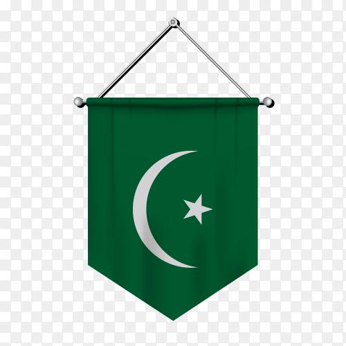 Illustration of Flag  of mauritania on transparent background PNG