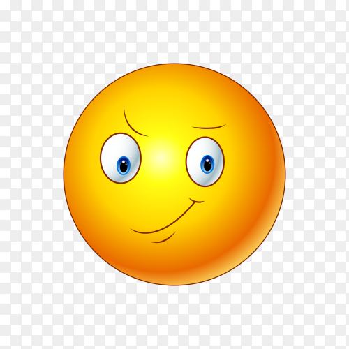 Illustration of Unamused Face Emoji on transparent background PNG