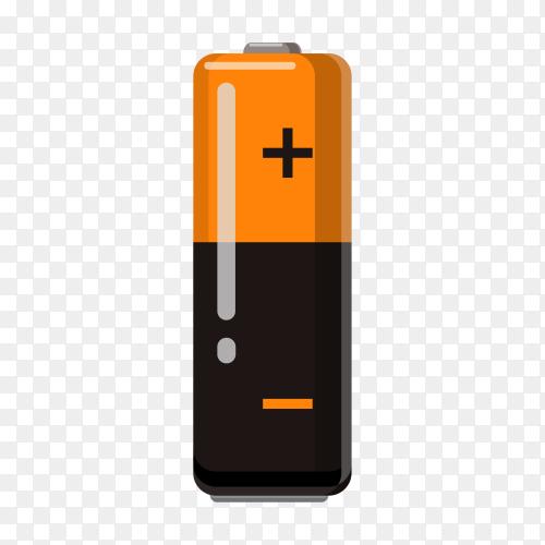 Illustration of battery design Clipart PNG