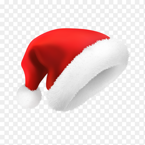 Santa Claus hat illustration Clipart PNG