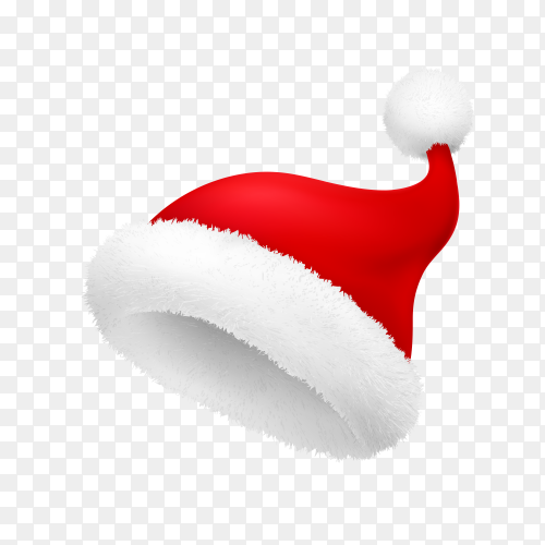 Santa Claus hat illustration Vector PNG