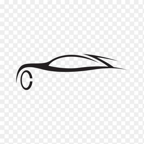 Car silhouette icon premium vector PNG