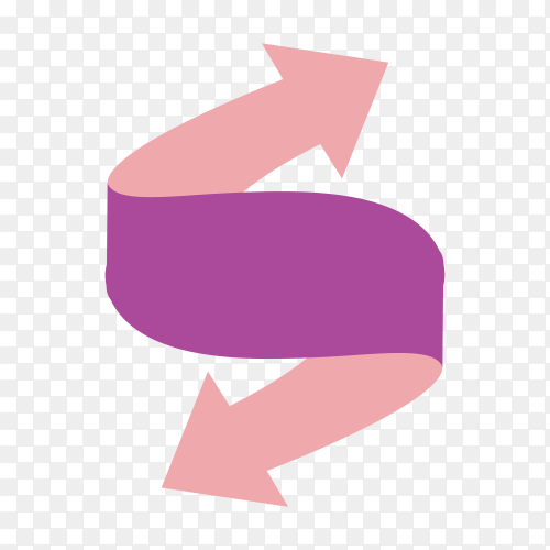Corporate logo design on transparent background PNG
