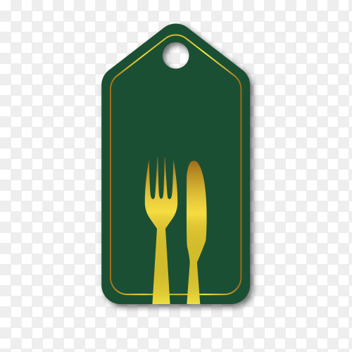 Empty label for promo seals on transparent background PNG