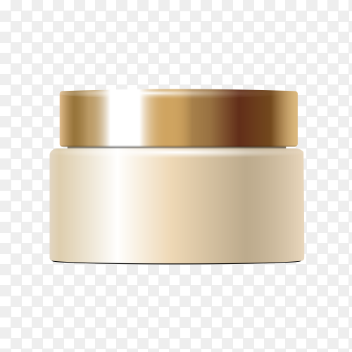 Foundation skin tone cream on transparent background PNG