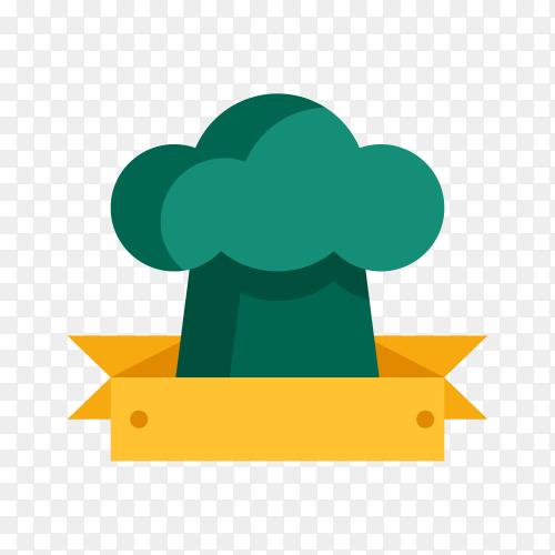 Illustration of empty label icon design on transparent PNG
