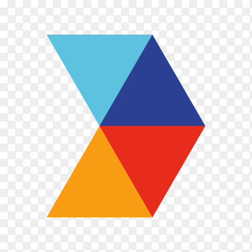 Illustration of logo design template premium vector PNG