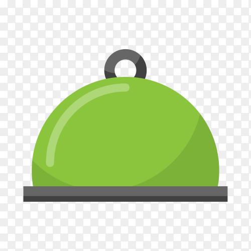Illustration of modern empty label icon design on transparent PNG