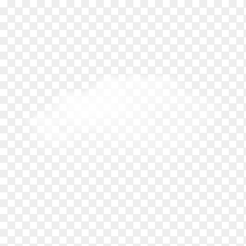 Illustration of white cloud on transparent background PNG