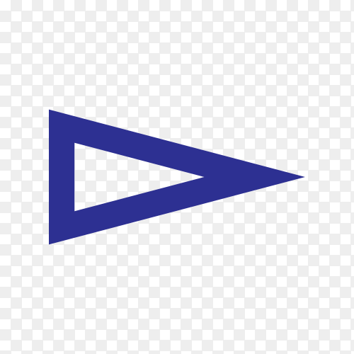 Isolated arrow, undo and previous button on transparent PNG