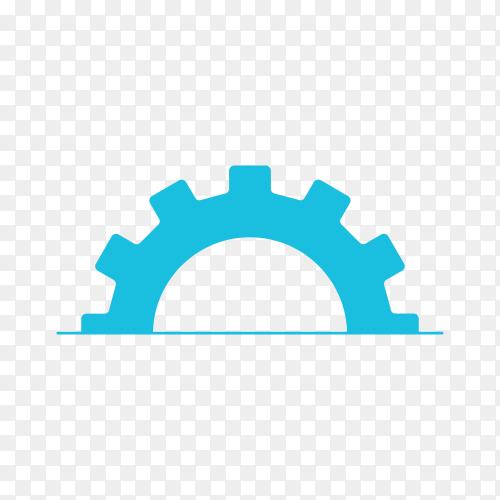 Machine energy logo premium vector PNG