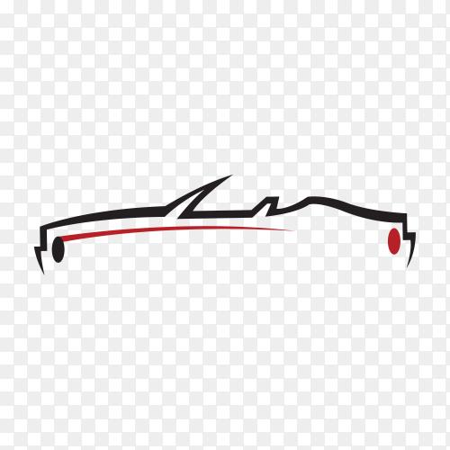 Original concept car premium vector PNG