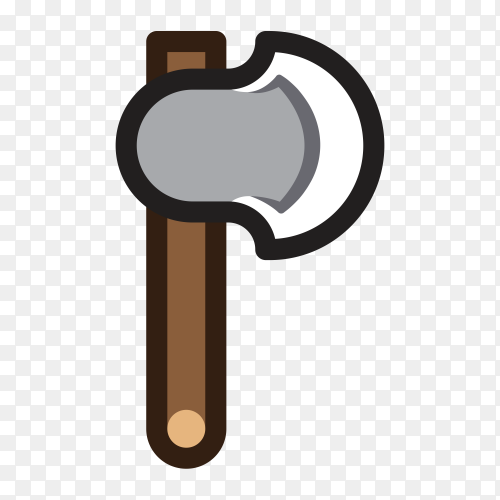 Axe for creating video game illustration Clipart PNG