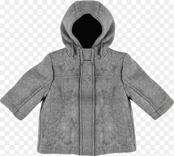 Baby coat isolated on transparent background PNG