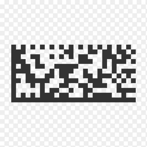 Barcode And Qr Code Sticker premium vector PNG