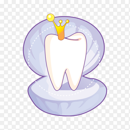 Cartoon Tooth Dentistry Penguin on transparent background PNG.png
