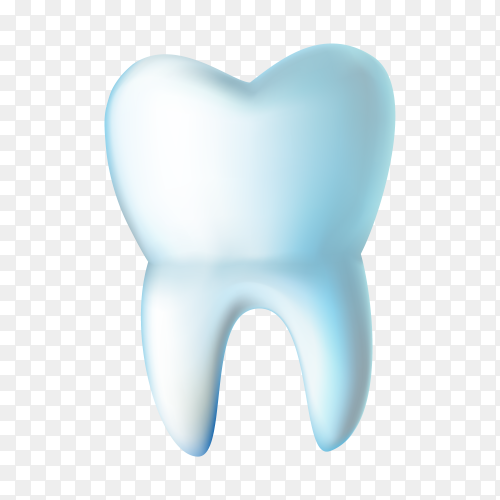 Clean Teeth isolated on transparent background PNG.png