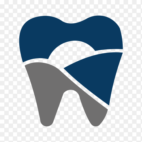 Dental Logo design premium vector PNG