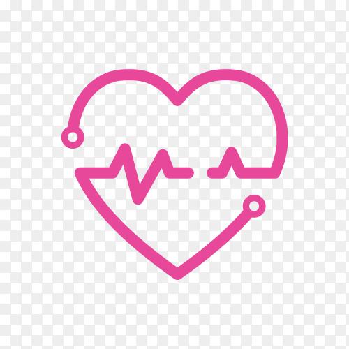Dental care logo design on transparent background PNG