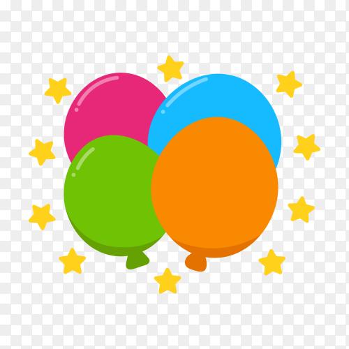 Empty colorful gradient speech bubble on transparent background PNG