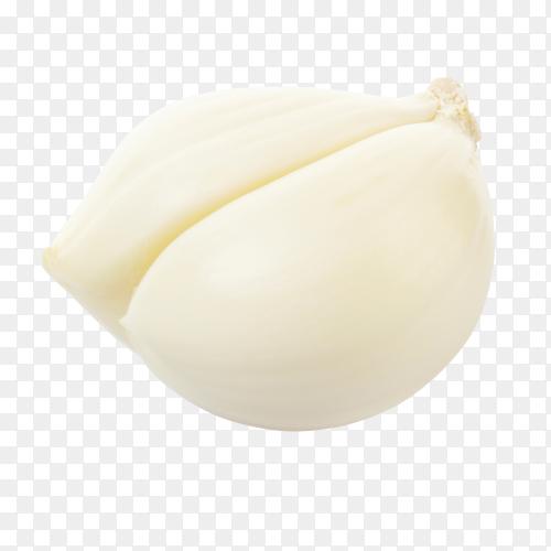 Garlic cloves on transparent background PNG