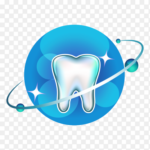 Illustration of Dental clinic logo design premium vector PNG.png