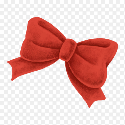 Illustration of beautiful bow on transparent background PNG.png