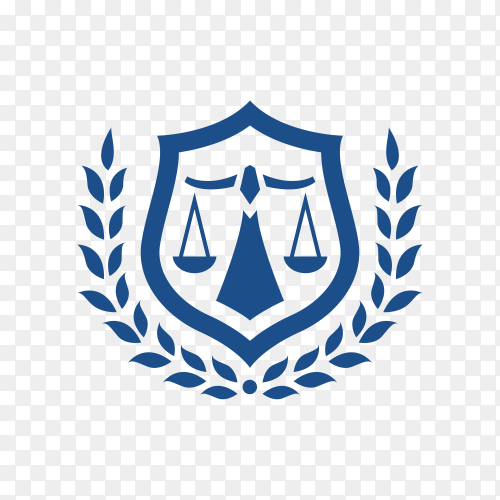Law Firm logo and icon design template premium vector PNG