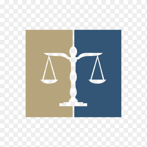 Lawyer Attorney Legal Law firm Logo design premium vector PNG