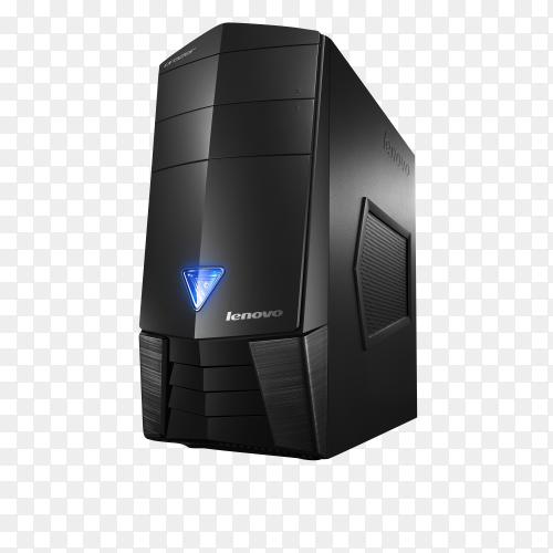 Lenovo Erazer X310 on transparent background PNG