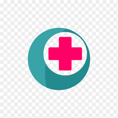 Medical logo premium vector PNG