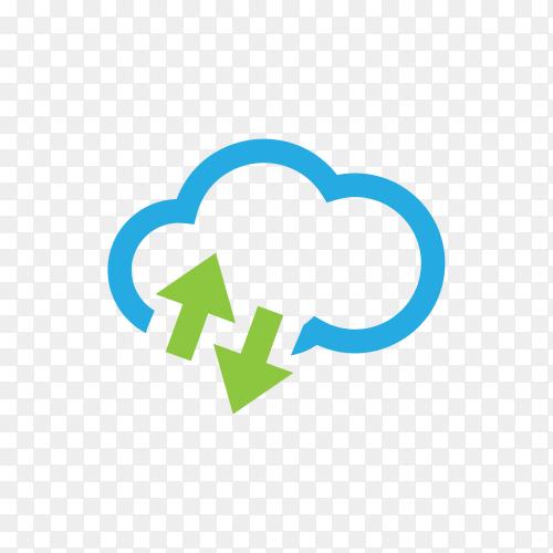 Minimalist logo design on transparent background PNG