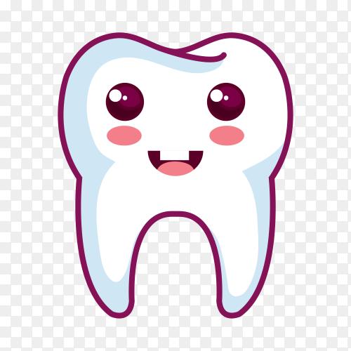 Simple dental logo on transparent background PNG.png
