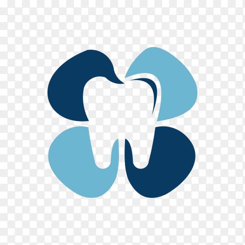Star Dental logo design concept premium vector PNG