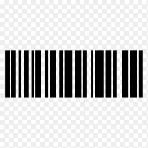 Various barcode, qr code and postcode isolated premium vector PNG