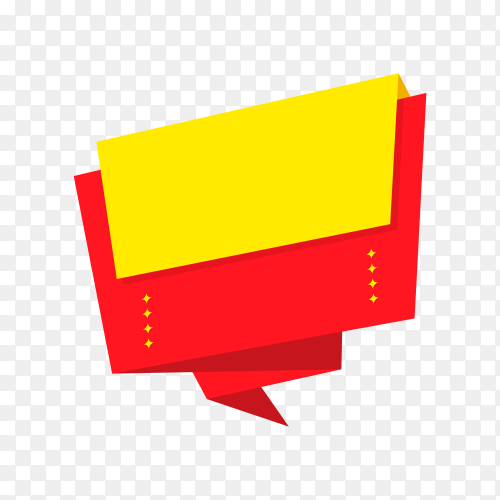 Banner icon design, Tag label product decoration sale card emblem invitation on transparent background PNG