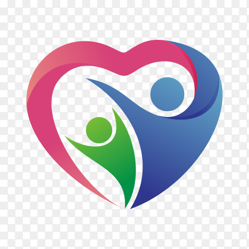 Charity and foundation logo on transparent background PNG