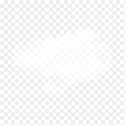 Cloud isolated on transparent background PNG