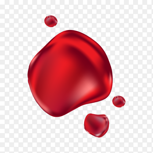 Illustration of World Blood Donor Day concept on transparent background PNG