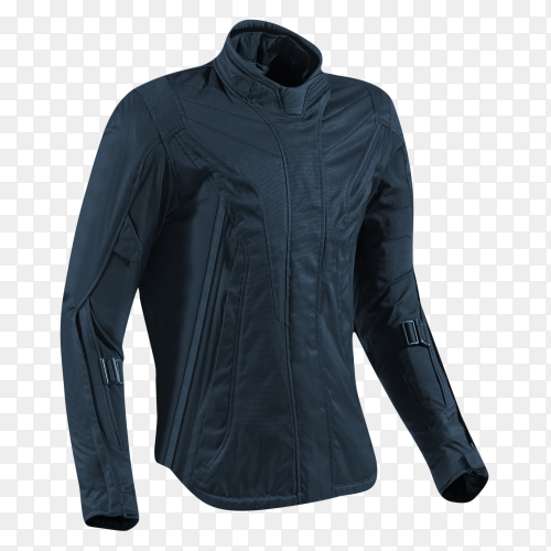 Leather jacket isolated on transparent background PNG