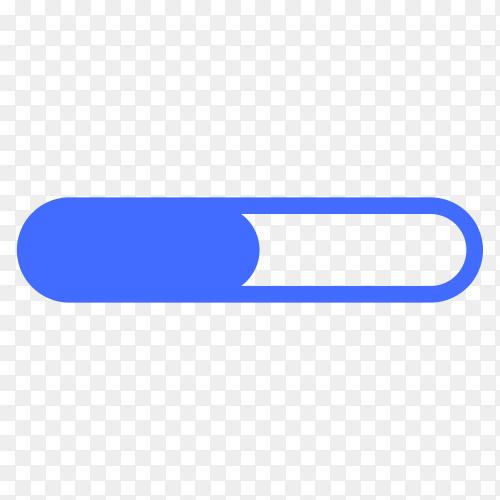 Loading icon design isolated on transparent background PNG