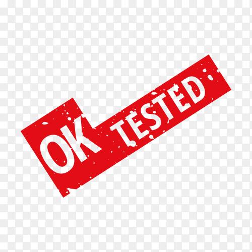 Ok tested, stamp on transparent background PNG