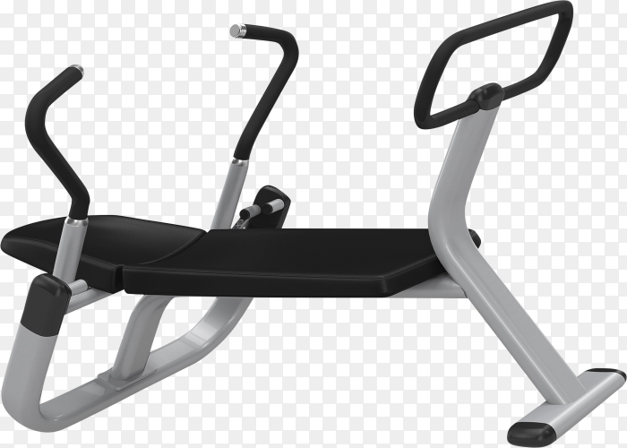Abdominal Exercise Equipment isolated on transparent background PNG