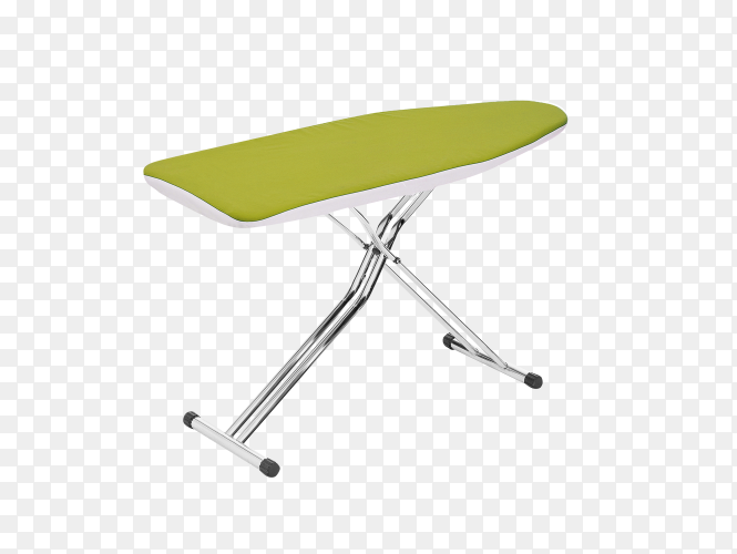 An ironing board on transparent background PNG