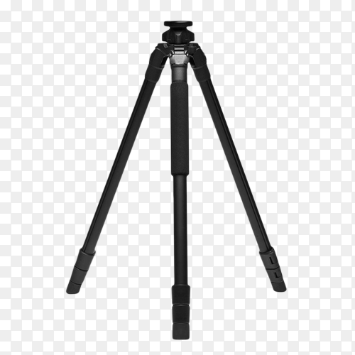 Best camera tripod isolated on transparent background PNG