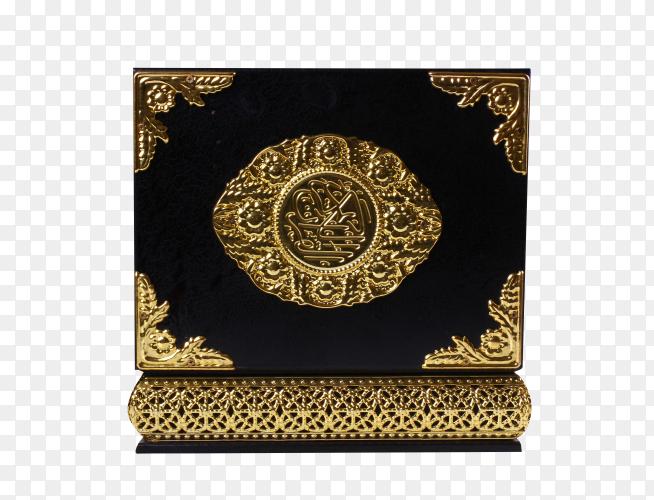 Quran kareem on transparent background PNG