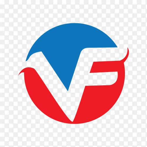Business logo design on transparent background PNG