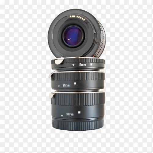 Camera photo lens. lens digital camera on transparent background PNG