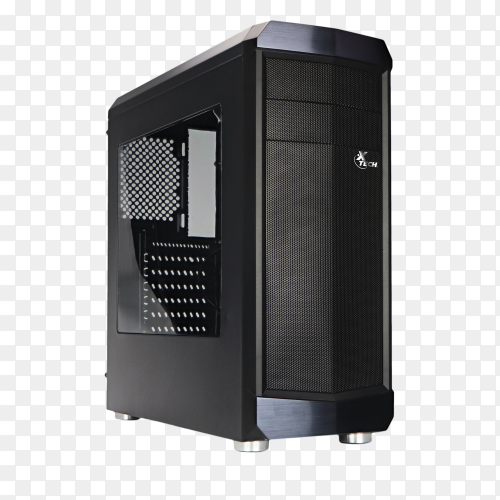 Desktop. Modern personal computer isolated on transparent background PNG