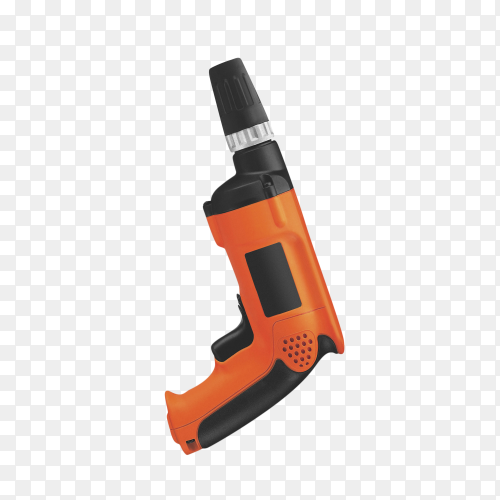 Drill isolated on transparent background PNG